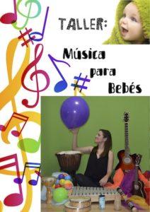 Taller de música para bebés @ C.E.M. Manuel de Falla | Zaragoza | Aragón | España