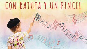 CON BATUTA Y UN PINCEL (Taller de música y pintura) @ C.E.M. Manuel de Falla,